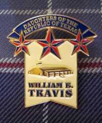 William B. Travis Pin